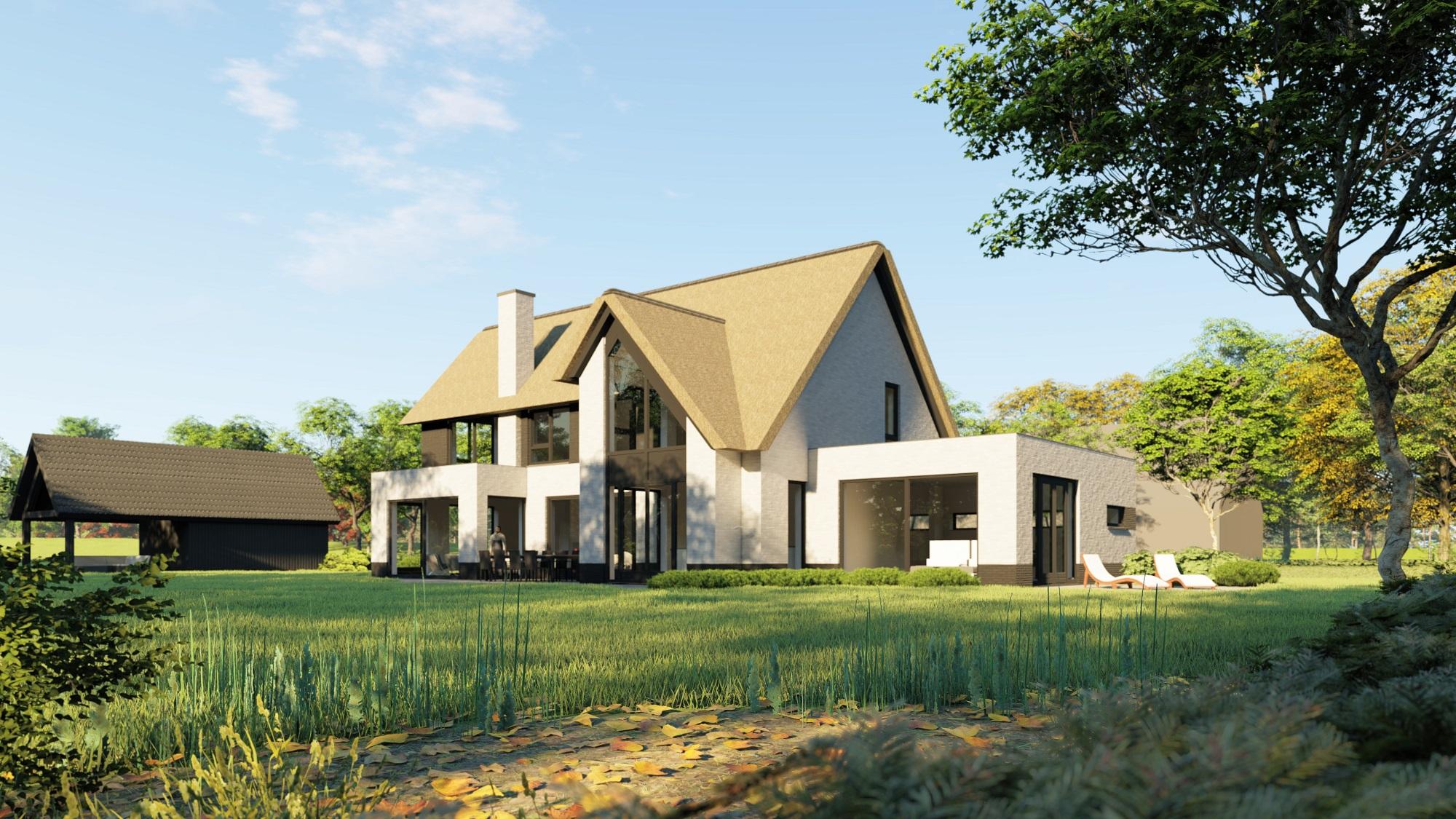 royale villa bouwen